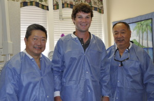 Dr. Wong, Dr. Hollon, and Dr. Kaneda